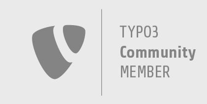 Wir sind TYPO3 Community Member